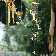 4 Tubes Wind Chimes Windchime Chapel Church Bells Home Yard Garden Hanging Decor