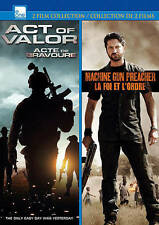 Act Of Valor/Machine Gun Preacher  DVD NEW