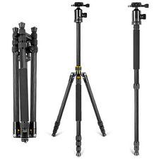 Neewer 66inch/168cm Carbon Fiber Camera Tripod Monopod with 360 Degree Ball Head