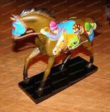 THE FRONT RUNNER (Enesco) 1E/2,522 (Trail of Painted Ponies, 4018391) Race Horse