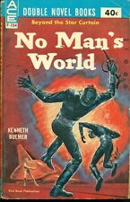 NO MAN'S WORLD & MAYDAY ORBIT Kenneth Bulmer & Poul Anderson (1961) Ace double