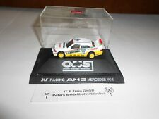 Herpa Spur H0 1:87 Motor Sport: DTM MS-Racing AMG Mercedes-Benz 190 E, Präs.box