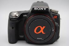 SONY SLT-A55V 16.2MP DSLR CAMERA WITH Sony DT 18-70mm F3.5-5.6 ZOOM LENS