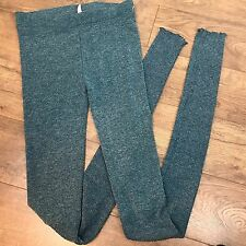NWOT Free People Intimately Ribbed Long Blue Sweater Leggings Leggin  pants XS