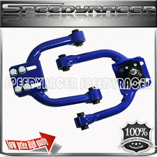 96-00 Honda Civic Front Upper Adjustable Control Arm with Camber Kit Blue