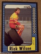 Maxx Collection Race Cards 1991 Rick Wilson (Card #8 of 240)