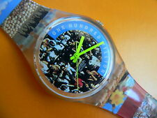 1992 Swatch Swatch Emotion Box With Book ( The People) GZ126PACK Special edition