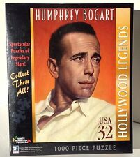 HOLLYWOOD LEGENDS ~ HUMPHREY BOGART (NEW) puzzle by White Mountain~1000 pieces