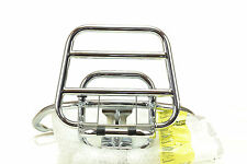 Piaggio genuine rear compl. luggage carrier chrome for Vespa LX-LXV