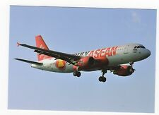 Thai Air Asia Airbus A320-216 Aviation Postcard, A709