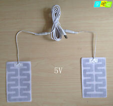 NEW USB Heating pad Thermal pad thermal pad labyrinth type heating cloth 8*13MM