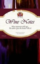 Food Gifts Ser.: Wine Notes : Gift / Gifts for Wine Lovers ( Notebook ) by...