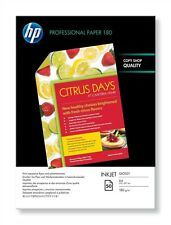 HP (A4) Glossy Superior Inkjet Paper (50 Sheets) 180gsm (White)