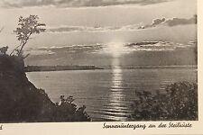 11213 AK Samland Sonnenuntergang an der Steilküste 1941