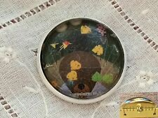 """Charley Harper Beaver Woodland Sewing Button 1"""" Mid Century Mod Charles CP22"""