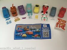KINDER Surprise Disney Cars 2 LIMITED EDITION SERIE COMPLETA DI 8 Cina 2016 RARA