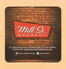 MILL ST. Brewery Toronto Beer Mat / Coaster Organic Lager Tank House Ale Stout