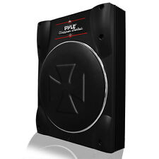 New Pyle PLBASS2.8 8'' Super Slim Active Amplified Subwoofer System