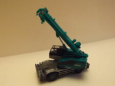 N Scale Tomytec Panther X250 Crane Travelling Construction Equipment Blue-Green