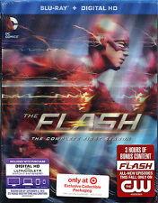 Target Exclusive Lenticular Flash First Season 1 Blu-ray 2015 + UV