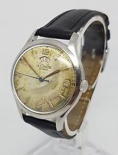 Jaeger LeCoultre Vintage JLC Powermatic 34mm Steel Automatic Watch