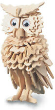 Owl 3D Wooden Modelling Kit Model Jigsaw Puzzle
