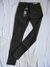 We are replay pantalon femmes stretch Casual pant w26/l34 low waist slim fit pipe