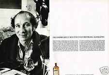 Publicité advertising 1977 (2 pages) La Liqueur Cointreau