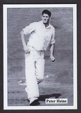 JF Collectibles - Overseas Cricketers 1940/50s - # 22 Peter Heine - South Africa