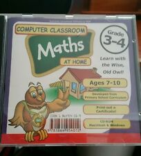 Computer Classroom - Maths At Home PC GAME - FREE POST