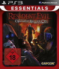 Resident Evil: operation Raccoon City -- Essentials (Sony ps3) (H) 10581