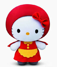 McDonald's Fairy Tales Special Edition Hello Kitty Plush -Little Red Riding Hood