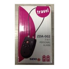 Zero ZDA-002 Travel 5 in 1 Personal door bag box bike alarm batteries included