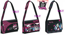 NEW!! Borsa Tracolla zaino di MONSTER HIGH  SCUOLA elementare-media originale