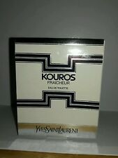 KOUROS FRAICHEUR by Yves Saint Laurent Eau de Toilette  .34 fl.oz 10 ml  NIB