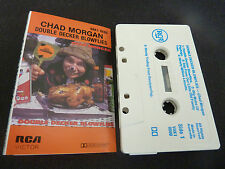 CHAD MORGAN DOUBLE DECKER BLOWFLIES ULTRA RARE AUTOGRAPHED AUSSIE CASSETTE TAPE!