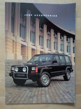 JEEP RANGE 1992-93 UK Mkt Accessories Sales Brochure - Wrangler Cherokee