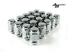 20 Pc 1975-1995 FORD TRUCK F-150 CHROME SOLID LUG NUTS 1/2 # AP-1904
