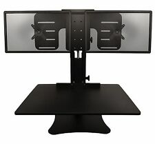 """Victor High Rise Monitor Stand - Up To 24"""" Screen Support - 22 Lb Load Capacity"""