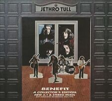 Jethro Tull 2 CD + DVD Benefit Collector's Ed. Steven Wilson 5.1 DVD-A NEW