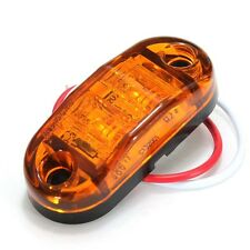 10 x Amber Led Side Marker Light Car Truck Sealed Trailer Lamp 12v/24V Durable