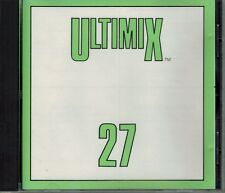 ULTIMIX 27 CHERRELLE WHEN IN ROME DINO MILLI VANILLI JOHNNY KEMP DJ'S REMIXES CD