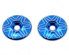 AVD1600-BLU Avid RC 1/10th Wing Mount Buttons (Blue)