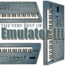 EMULATOR III - LARGE ORIGINAL Sound (Samples) LIBRARY on DVD