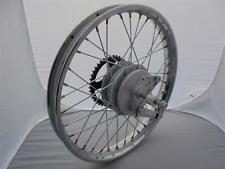 Honda C50 Cub Motorcycle Complete Rear Wheel, spindle, brake drum and cush drive