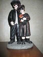"""NEW 15"""" Brother/Sister, Boy/Girl, Children Trick-or-Treat Halloween - Statue!!"""