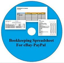 Bookkeeping Spreadsheet for eBay-PayPal CD