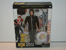 "GI JOE 12"" PERILOUS RESCUE ACTION DOLL MISB NRFB 2000 HASBRO"