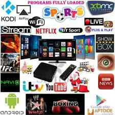 KODI(XBMC) Quad Core Untethered Android 4.4 TV Box Fully Loaded replace Apple TV