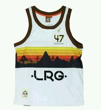 Lifted research group LRG Mens tank top Basketball jersey S NWT NEW OLD STOCK